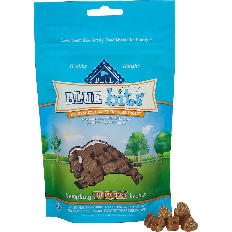 **SALE** Blue Buffalo Blue Bits Turkey Dog Training Treats, 4 oz. (12/18) (T.A2)