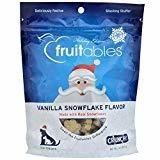 Fruitables Dog Treats Vanilla Snowflake (7 oz) Holiday Edition (T.A1/A2/A3)