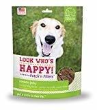 Look Who's Happy Fetch'n Fillets Venison Recipe Jerky Dog Treats, 3 Oz (10/18) (T.D12)