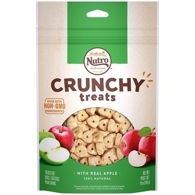 **SALE** Nutro Crunchy Dog Treats with Real Apple (10 oz.; .75