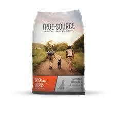 True Source Real Chicken & Rice Dry Dog Food 8 lbs. (1/19) (A.M5)