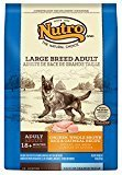 Nutro Wholesome Essentials Large Breed Adult Chicken & Rice Dry Dog Food 15lb (12/18) (A.E1)