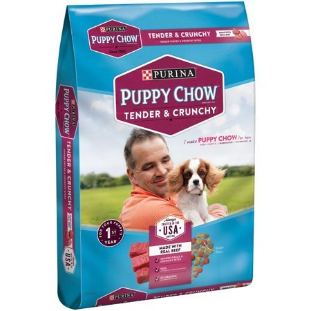 Puppy Chow Healthy Morsels with Soft and Crunchy Bites Puppy Food, 16.5 lbs (A.L1)