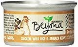 Purina Beyond Natural Canned Cat Food, Chicken, Wild Rice and Spinach Recipe, 3 OZ 12 COUNT (9/18) (A.K5)