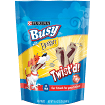 PURINA BUSY WITH BEGGIN TWIST TREATS 30 COUNT 16.4 OZ  (12/18) (T.B4)