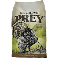 Taste of the Wild Prey Turkey Dog Food 25lb (10/18) (A.J1)