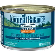 Natural Balance Chicken/Duck Rice Puppy 6 oz 12 count (9/17) (A.A2)