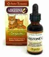 **SALE Adizone C - All Natural Anti-Inflammatory Pain Reliever for Cats (1 Ounce Bottle (11/17) (O.B2)