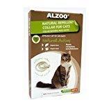 ALZOO Natural Repellent Flea & Tick Collar for Cats 1-oz box 1-count (12/18) (O.V1)
