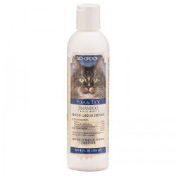Bio Groom Flea and Tick Shampoo for Cats - 8 oz (O.L2)