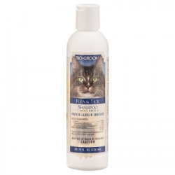 Bio Groom Flea and Tick Shampoo for Cats - 8 oz (O.L2)