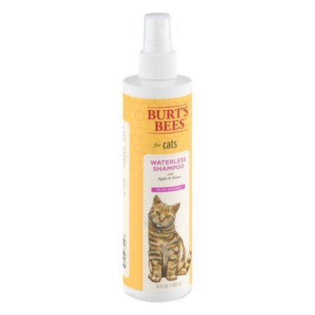 Burt's Bees for Cats Waterless Shampoo with Apple and Honey, 10 fl oz (O.L2)