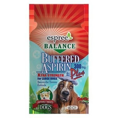 *SALE Espree Animal Products 60 Count Buffered Aspirin, 300mg (10/17) (O.B2)