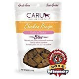 Caru Natural Bites Chicken Receipe Dog Treats 4 oz (Date 11/2016)