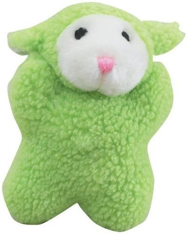 Cuddly Berber Baby Lime Green - 8 in. (RPAL103)