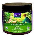 Halo Vita Glo Xtra-C Instant Vitamin-C Concentrate Natural Supplement for Cats and Dogs, 8oz  (5/17 ) (O.U4)