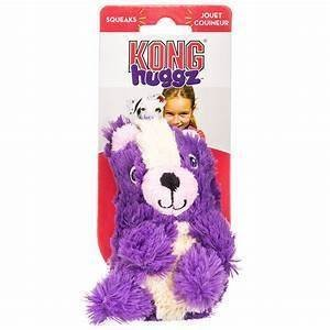 KONG Huggz Skunk Dog Toy, Small (RPAL-B15)
