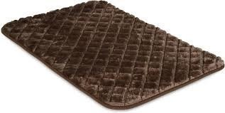 "Snoozzy Bed Mat Chocolate 43"" X 28"" Easy Wash"