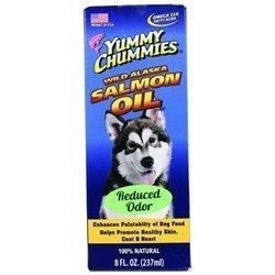 **SALE Yummy Chummies Low Odor Wild Alaskan Salmon Oil 8 oz (8/17) (O.P1)