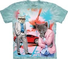 Cool Cats n Cars  T-Shirt Extra Large Only (RPAL126)