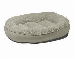 """Beautiful Dreamer Bed 27"""" Oval Chocolate"""