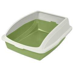 Litter Pan - VanNess Large Framed Lime Green