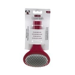 Rubber Slicker Brush Large  **Ships Out Of Packaging**
