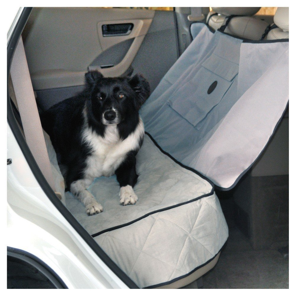 "K&H Deluxe Gray Car Seat Saver, 54"" L X 58"" W (B.D2)"