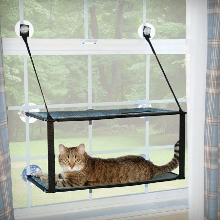 K & H Pet Products Kitty Sill Double Stack EZ Window Mount  (B.C11/PR)