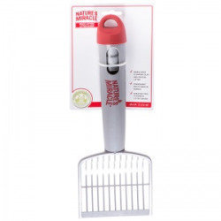 Natures Miracle Quick Sifting Litter Scoop with Handle and Bag: Scoop  (RPAL-B24)