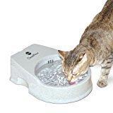 K&H Cat Clean Flow Filter Water Bowl for Cats, 80 oz. Capacity  (B.D3)