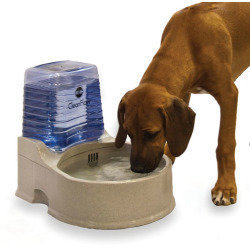K&H Pet Clean Flow Water Dispenser with Reservoir - Large  (B.A25/B21)
