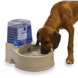K&H Pet Clean Flow Water Dispenser with Reservoir - Large  (B.A25/B21)