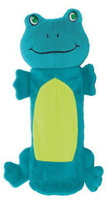 Outward Hound Kyjen 32082 Bottle Gigglers Frog Plush Chew Toys Water Bottle Gig  (RPAL-A11)