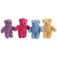 Berber 8.5 Bear Dog Toy - Color: Purple (B.90)