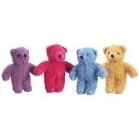 Berber 8.5 Bear Dog Toy - Color: Pink (RPAL91)
