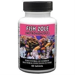 **SALE** Fish Zole 250mg (Metronidazole) 60ct (8/17) (O.O1)