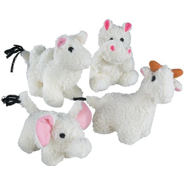 Zanies Fleece Friends Llama (RPAL100/AM5)