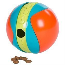 Outward Hound Treat Chaser Dog Toy, Large, Multicolor (B.C10)