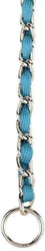 """Nylon Webbing Fashion Choke Chain 16"""" X 2.5mm Turquoise (RPAL137)"""