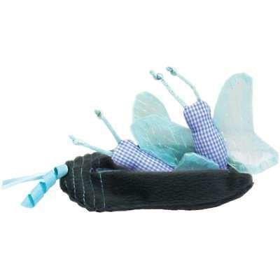 Petlinks Hide & Peek Catnip Crinkle Cat Toy, Butterfly & Cocoon  (B.A13/B16)