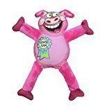 "Petstages Madcap Whatta Ham Canvas & Plush Dog Toy, 12"", Multicolor (RPAL-A5)"