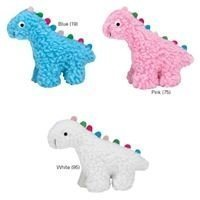 Fresh Water Berber Dinos Dog Toy, Small, White (B.92/97)
