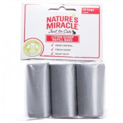 Natures Miracle Nature's Miracle Litter Scoop Refill Bags: 3 Pack  Cat  (B.C6/PR)