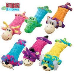KONG Pillows Critter Dog Toy Monkey (RPAL-B8/B10)