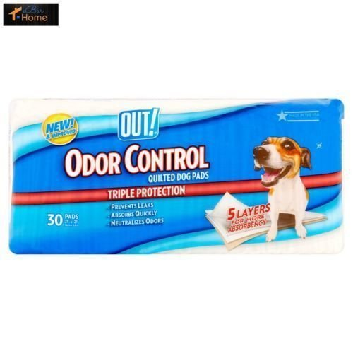 Out Pet Care Odor Control Quilted Disposable Pee Pads 30 Count