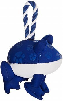 Chomper Wet Dog Frog Tugger - Blue (RPAL-B11)
