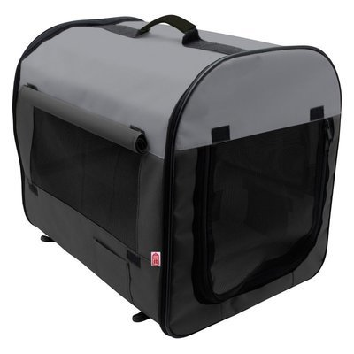 Soft-Sided Nylon Dog Home Medium 24 x 22 x 31 L *Includes Carrying Case  Packs Flat Perfect for the Car  (B.W2)