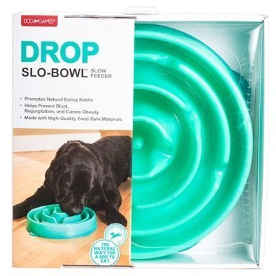 Kyjen Slo-Bowl Slow Feeder Slow Feed Interactive Bloat Stop Dog Bowl, Large  ***MAY BE A DIFFERENT COLOR THAN SHOWN** (B.D10)
