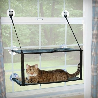 K & H Pet Products Kitty Sill Double Stack EZ Window Mount  (B.C11)